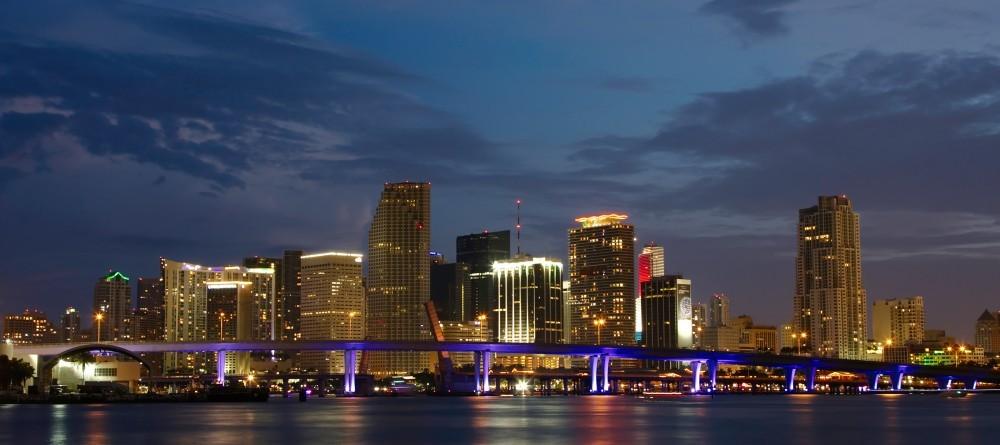 Miami Downtown view